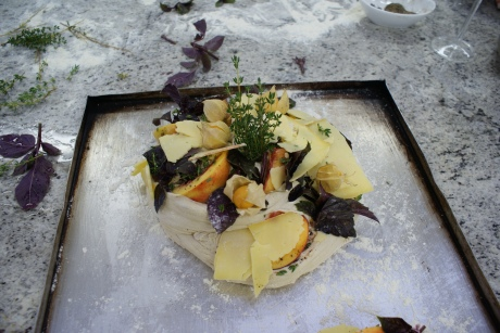 My herby fruity breakfast bread baked alongside the Babylonstoren chef who cooks for Babel restaurant