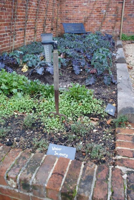The walled garden treats