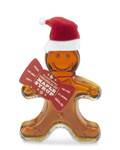 gingerbread boy maple syrup