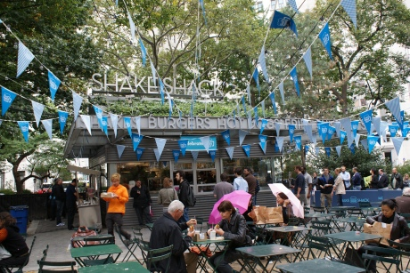 Shake Shack at Madison Square Park, New York