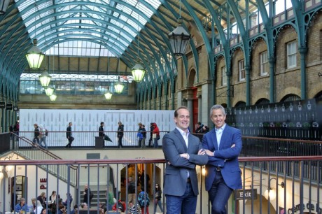 Danny Meyer and Randy Garutti in Covent Garden this week