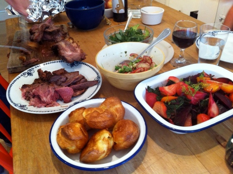 Sunday lunch in style