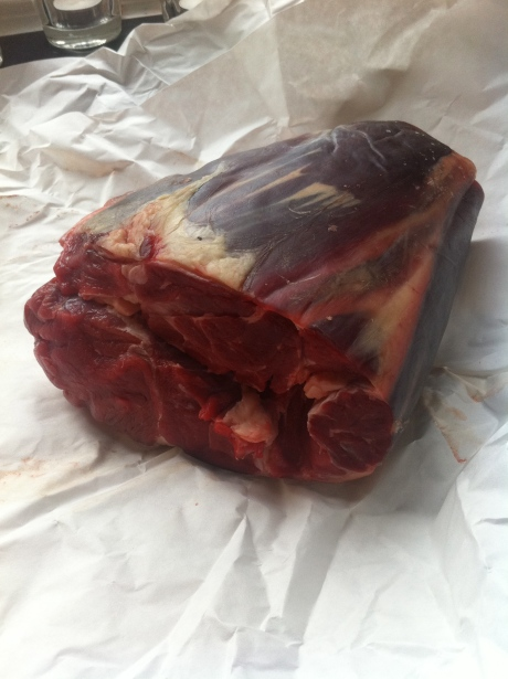 Shin of Laverstoke Park organic beef