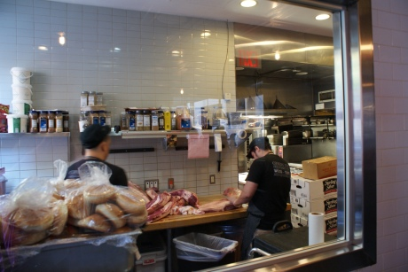 Butchery at Mighty Quinn's