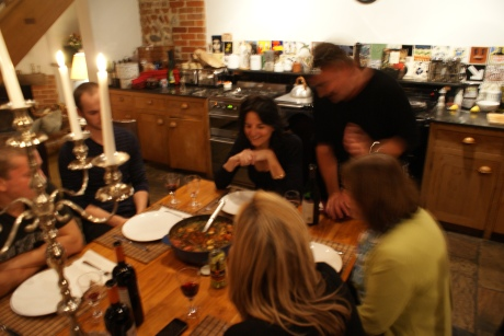 The best birthday weekend sharing food with friends in Norfolk