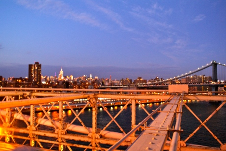 Over the Brooklyn Bridge