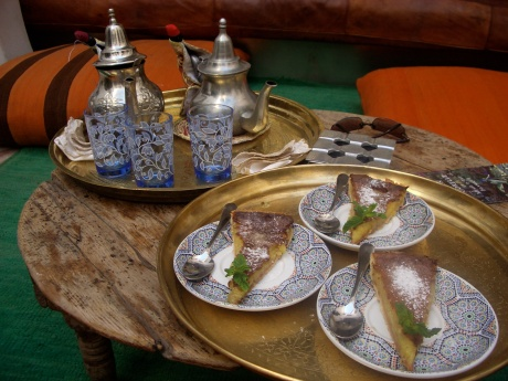 Afternoon tea Marrakech style