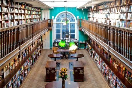 Daunt Books in Marylebone High Street