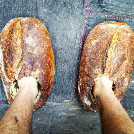 "Pic from Josey's blog. ""Loafers"" - funny!"