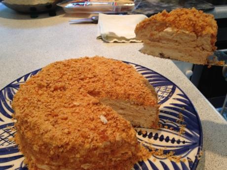 A wonderful meringue, made at home