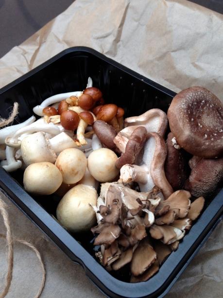 My fabulous mushroom medley