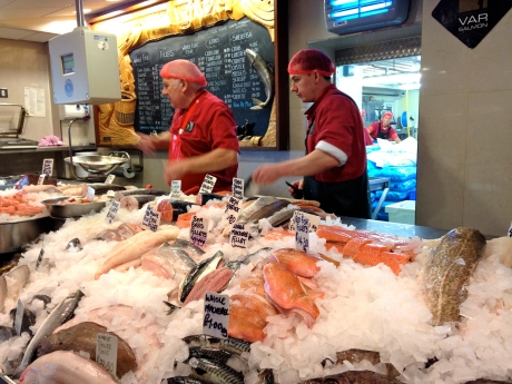 Severn & Wye fish counter featuring local Var salmon