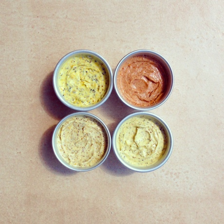 Spiced butters - I am convinced they are the way forward...