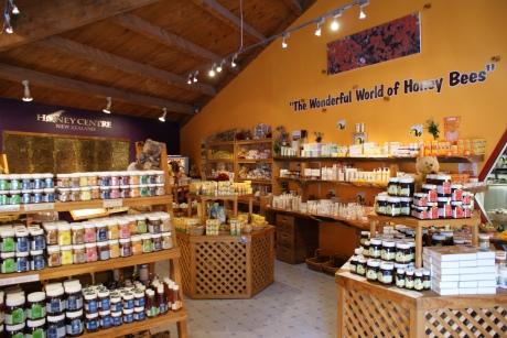 Honey centre in New Zealand