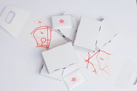 Packaging and Ponchos_