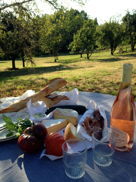 Our picnic - the before pic